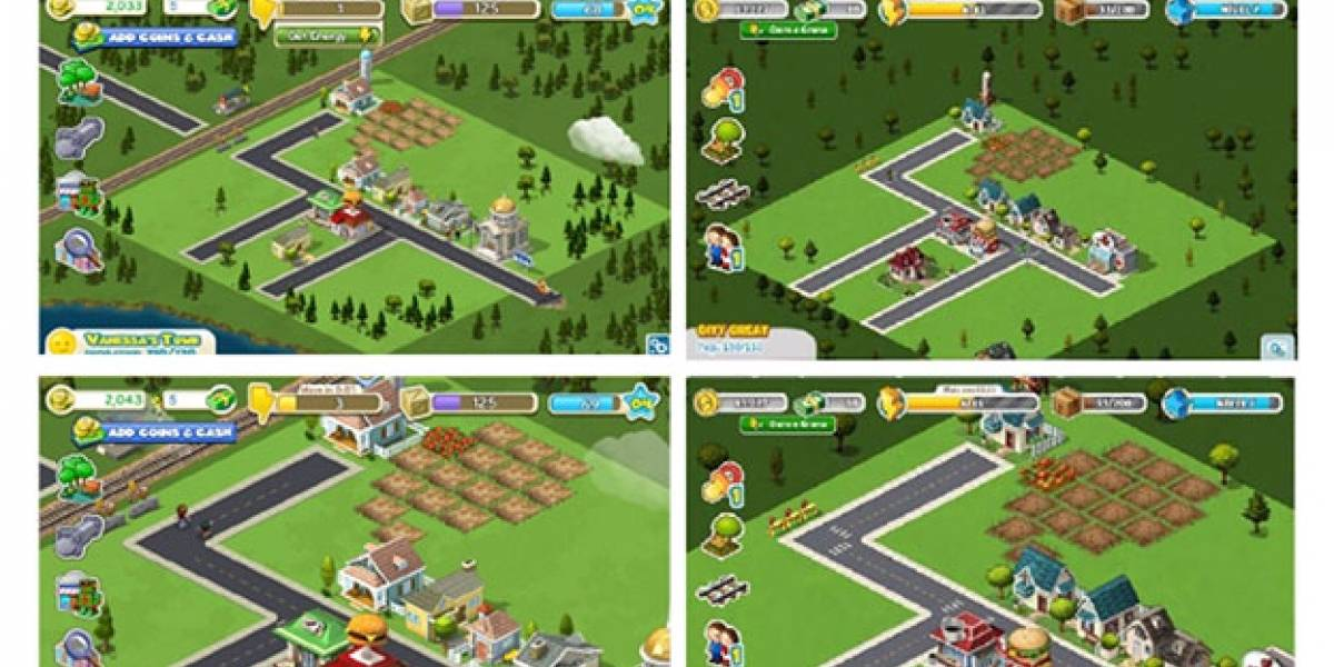 Zynga demanda a estudio brasileño por clonar CityVille