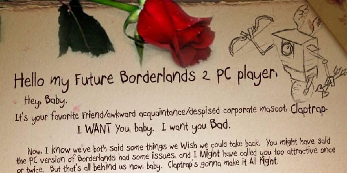 Borderlands 2 tendrá opciones exclusivas en PC