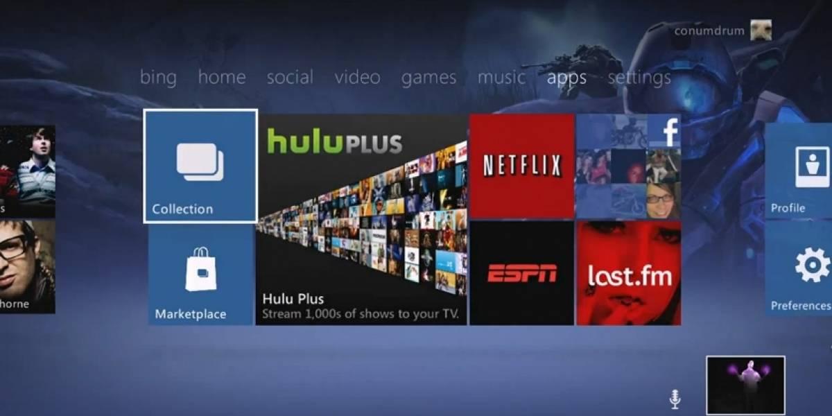 El nuevo dashboard de Xbox 360 se llama Twist Control