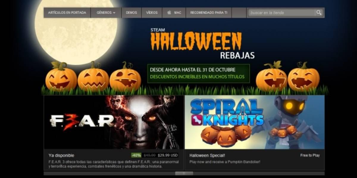Fin de semana de Halloween significa ofertones en Steam