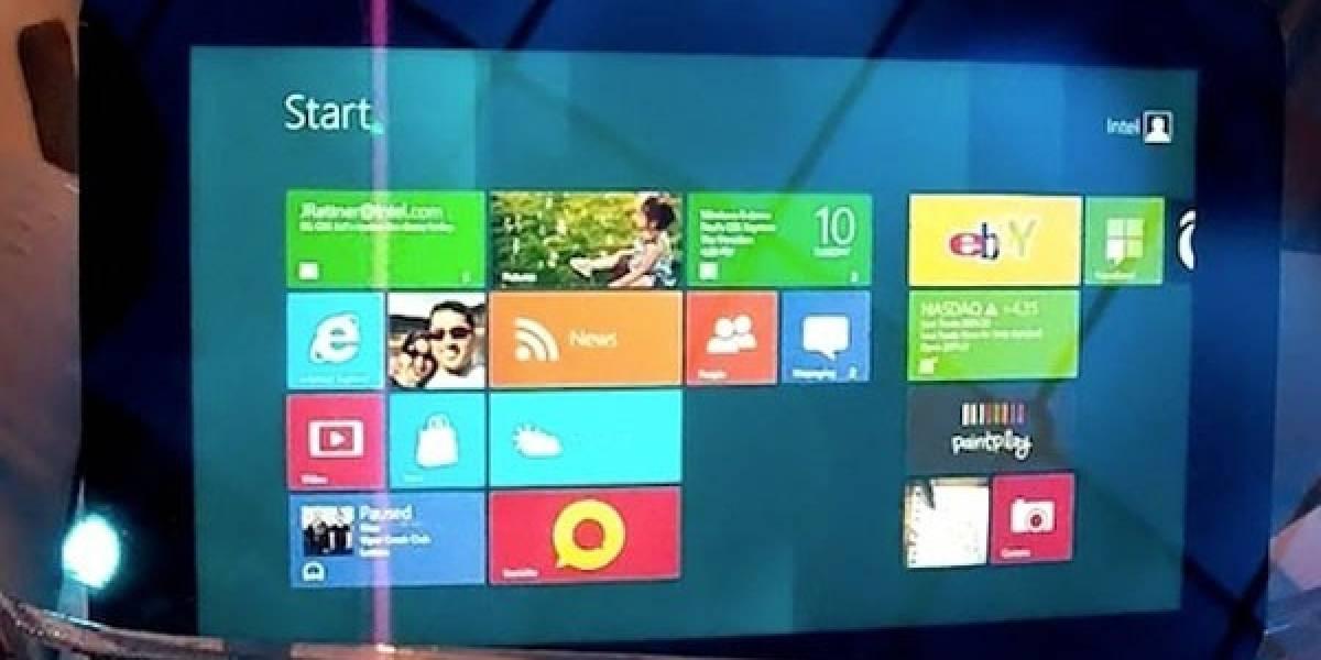 Primeras tabletas basadas en Intel con Windows 8 verán la luz en noviembre