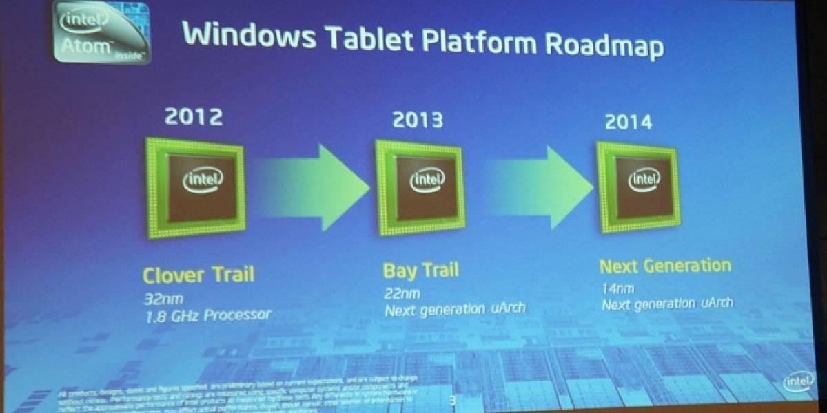 """Intel Atom Z2760 """"Cloverview"""" debuta en septiembre de este año"""