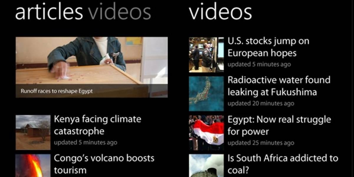 Aplicación de CNN ahora disponible para todos los usuarios de Windows Phone