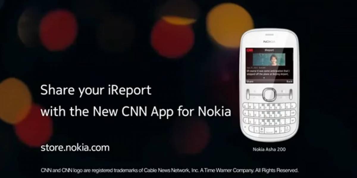 CNN anuncia su app de reporte personalizado para los Nokia Asha 200