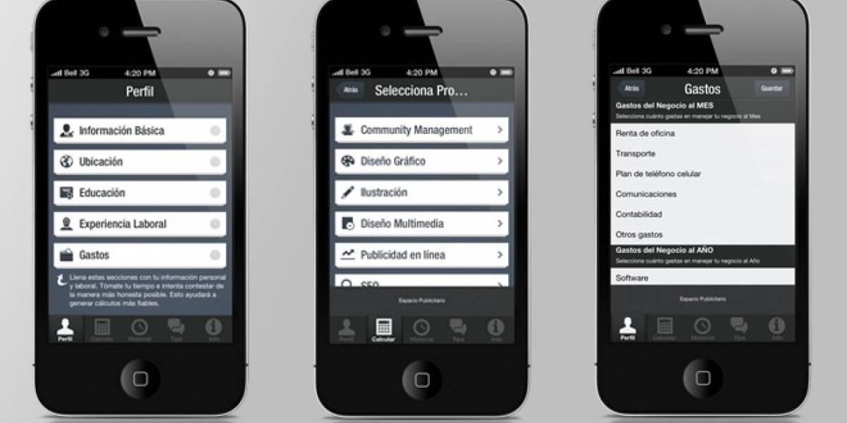 Cuánto cobrar: Una aplicación iOS que ayuda a los freelancers
