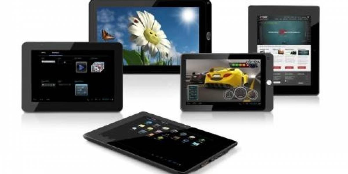 Coby Electronics lanzará serie de tablets con Android 4.0 Ice Cream Sandwich