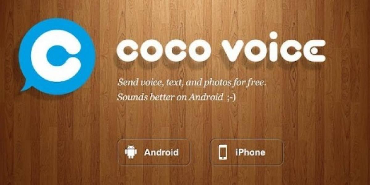 Coco Voice: Utiliza tu smartphone como un walkie talkie