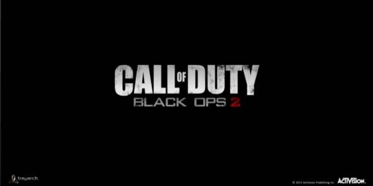Web oficial de Call of Duty adelantó confirmación de Black Ops 2