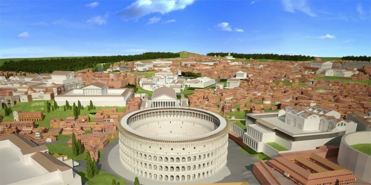 Rome Reborn: Un proyecto para descubrir Roma en su época dorada