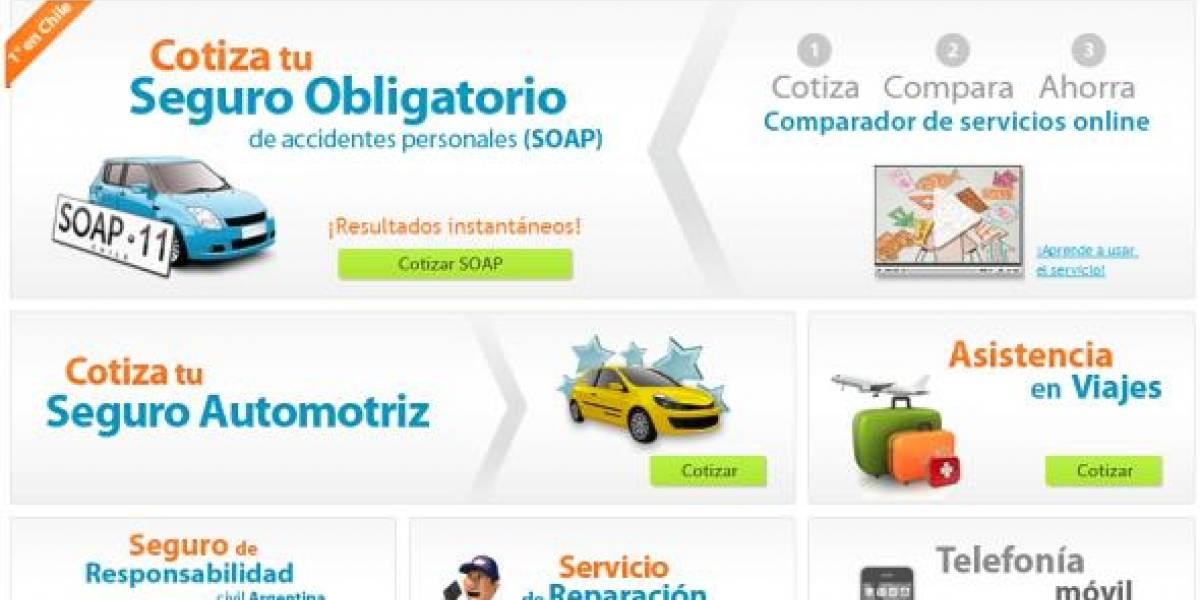 ComparaOnline, cotizador de seguros y servicios [FW Emprendimiento]