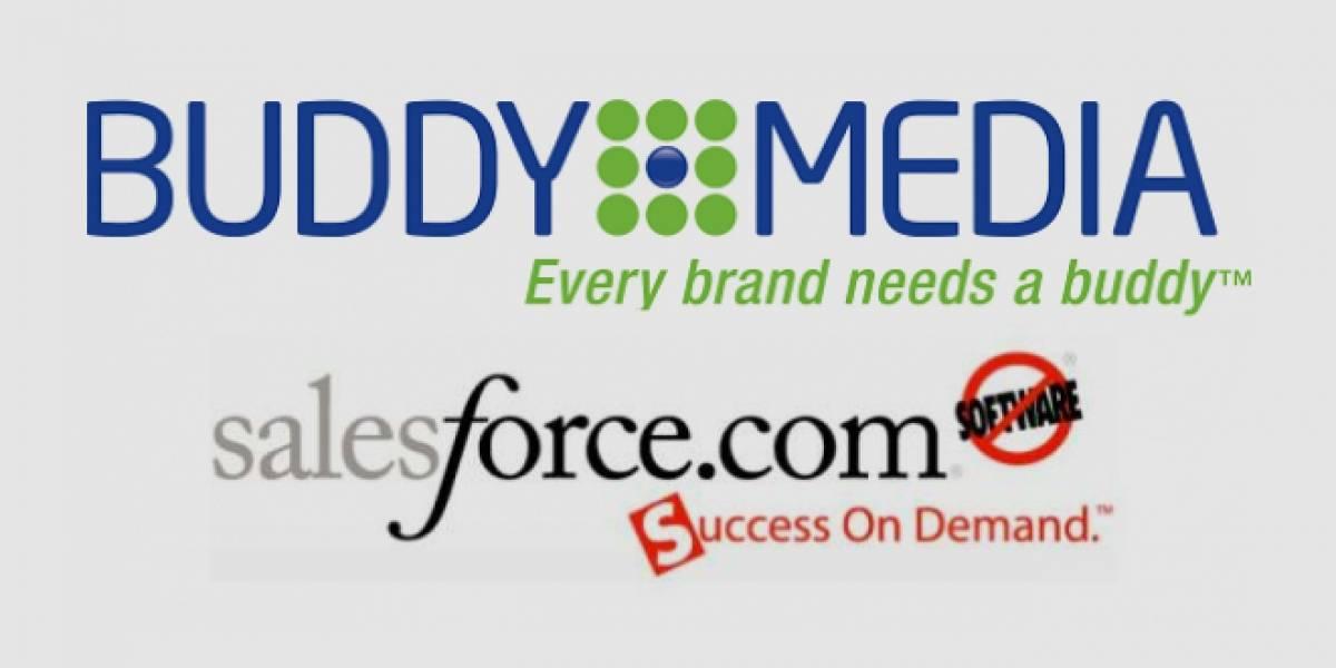 Salesforce compra Buddy Media para ampliar oferta de servicios empresariales en la nube