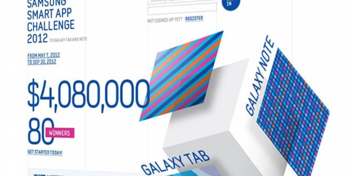 Samsung lanza concurso para el desarrollo de aplicaciones de Galaxy Note y Tab