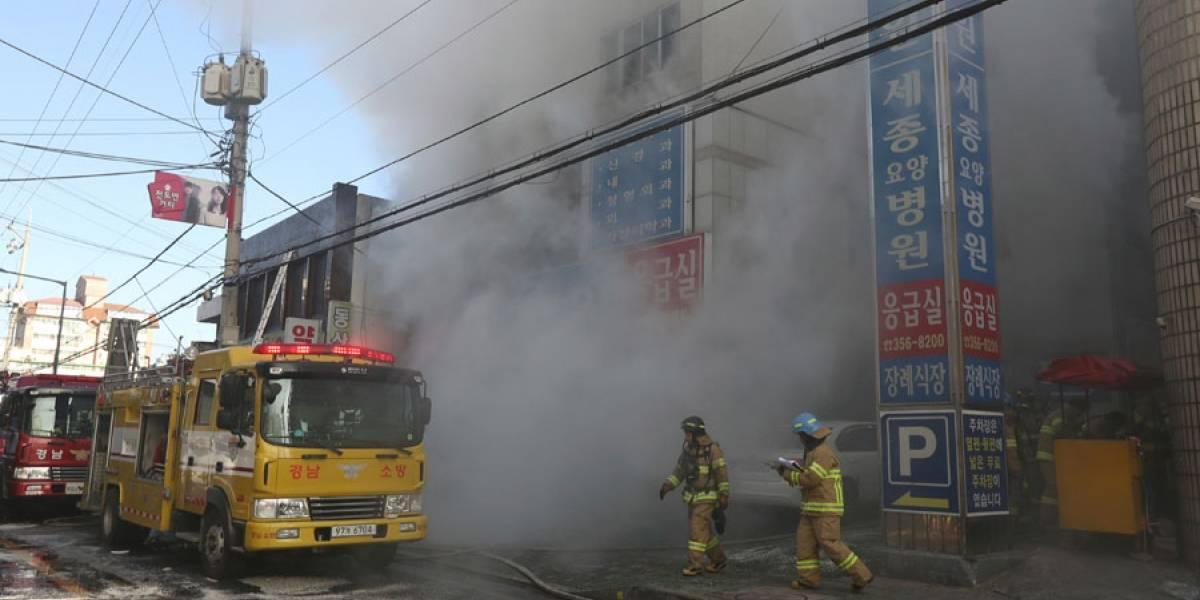 Corea del Sur: Mueren 31 personas por incendio en hospital
