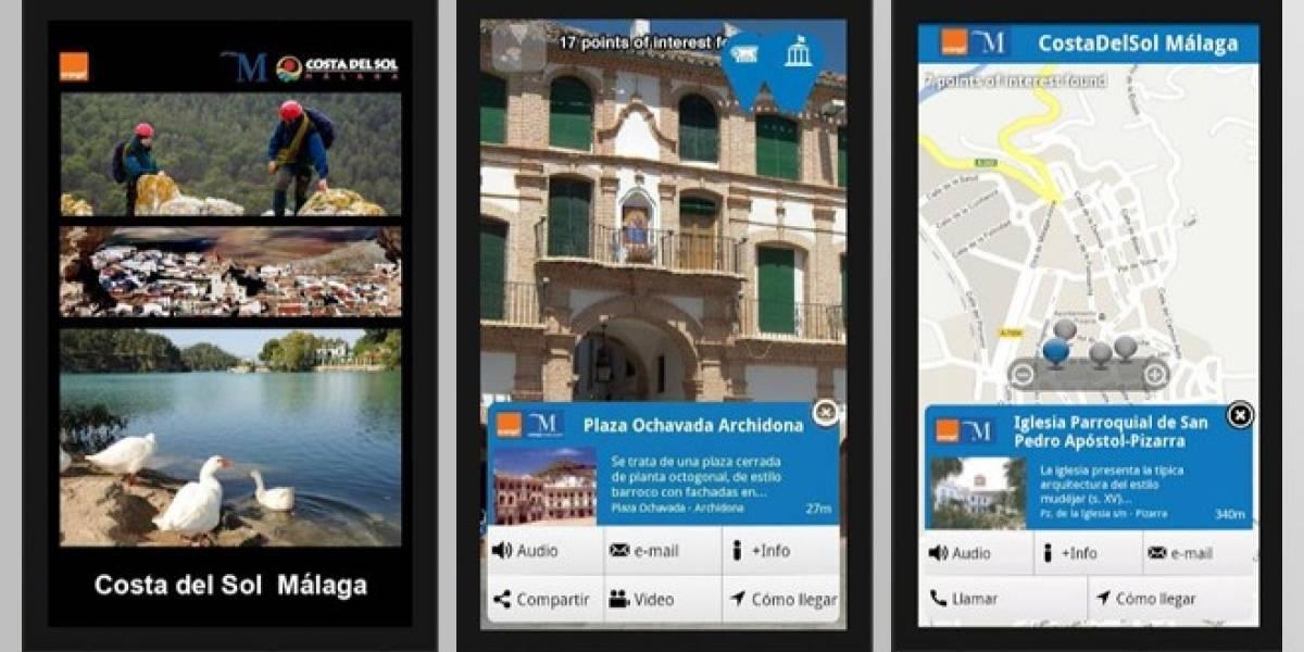 España: Una aplicación de realidad aumentada para hacer turismo en Málaga