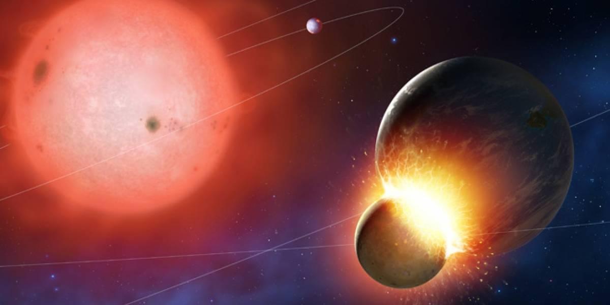 Descubren cuatro estrellas que consumieron exoplanetas similares a la Tierra