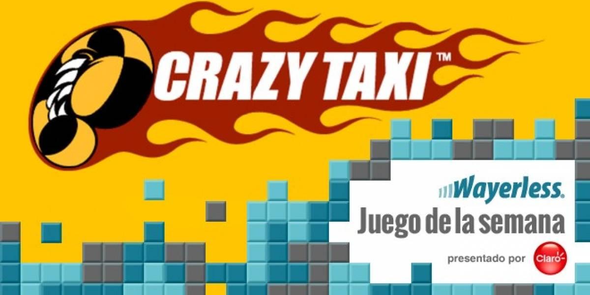 Crazy Taxi, un clásico mundial llega a los móviles [W Juego]