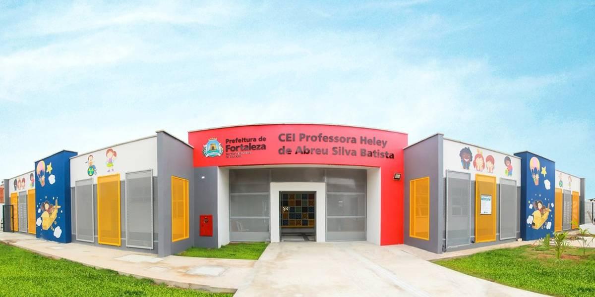 Nova creche em Fortaleza recebe nome de professora morta em incêndio