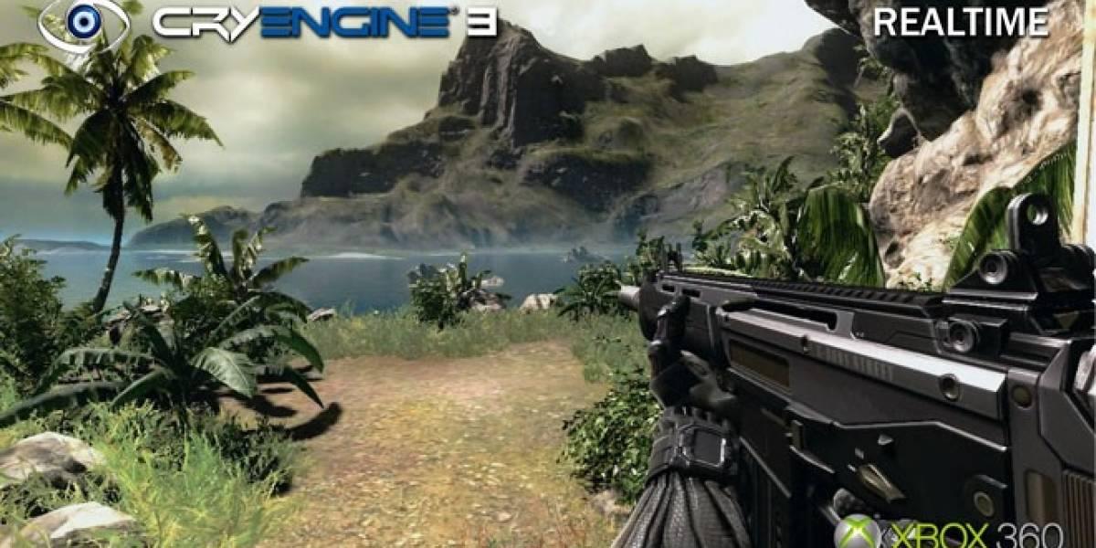Crytek mostrará mejoras del CryEngine 3 durante la GDC 2012
