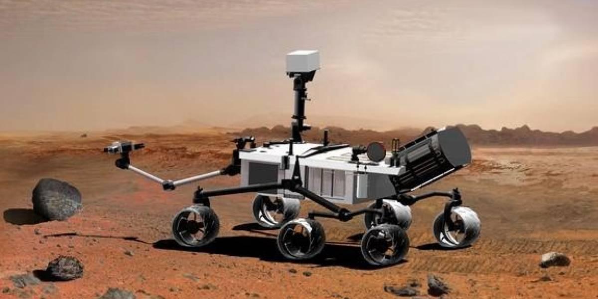 Al rover Curiosity le falta dinero para llegar a Marte