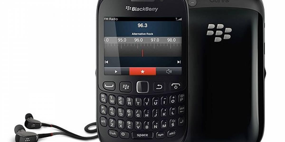 El Blackberry Curve 9220 llega al catálogo de Vodafone España