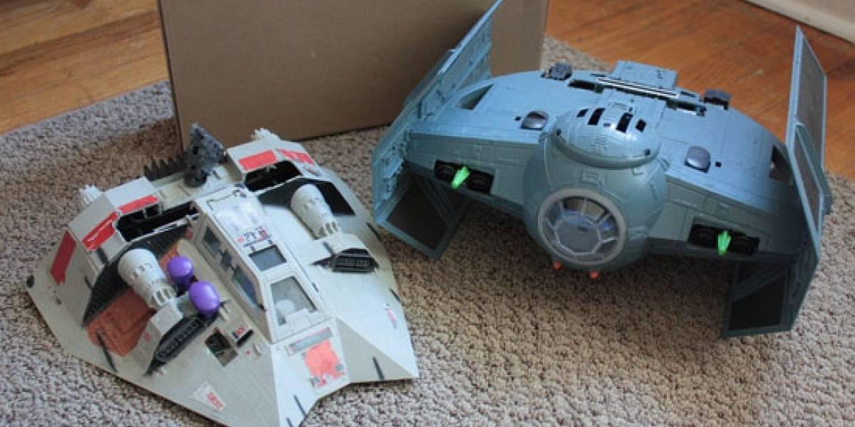 Nunca unas naves de Star Wars dieron tanto juego