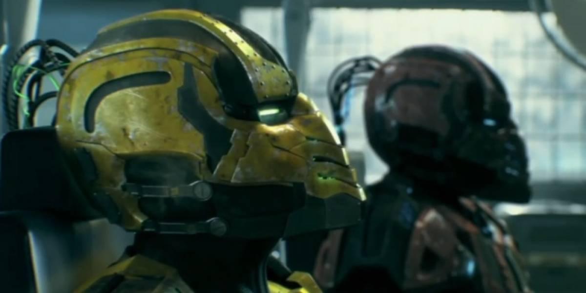 Cyrax y Sektor en el episodio final de Mortal Kombat: Legacy