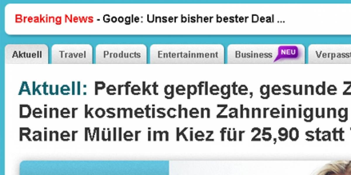 Google insiste con el negocio de los cupones de descuento y compra a Daily Deal