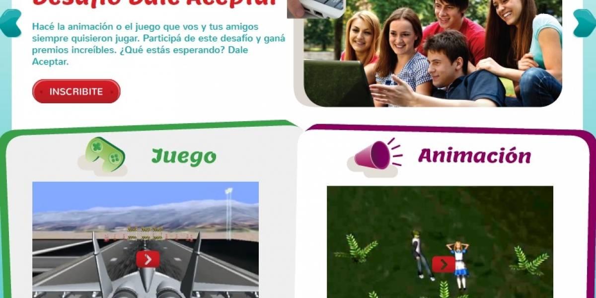 Dale Aceptar: Un concurso de diseño de animaciones y videojuegos para estudiantes secundarios argentinos