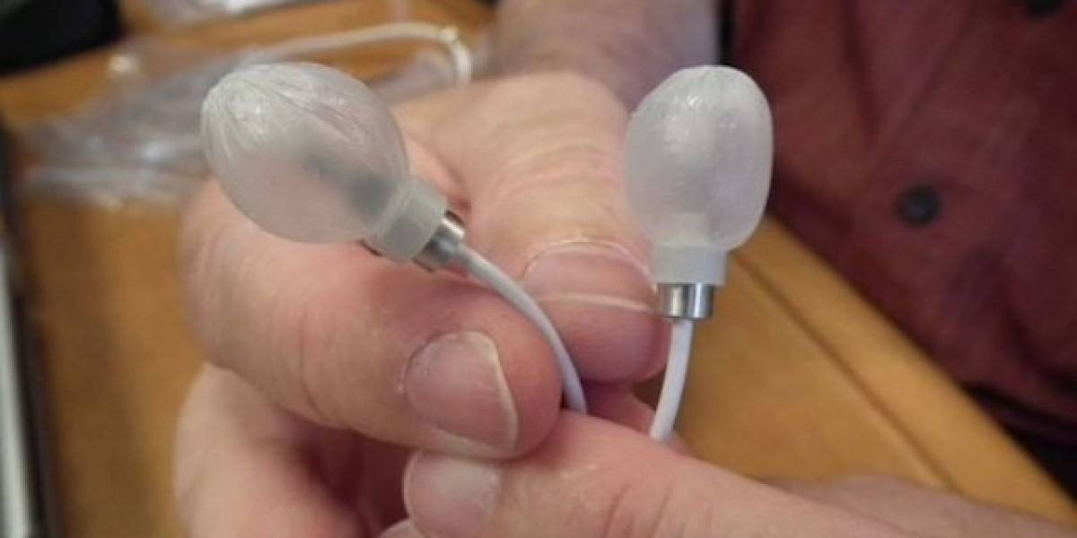 Auriculares hinchables que tus oídos agradecerán