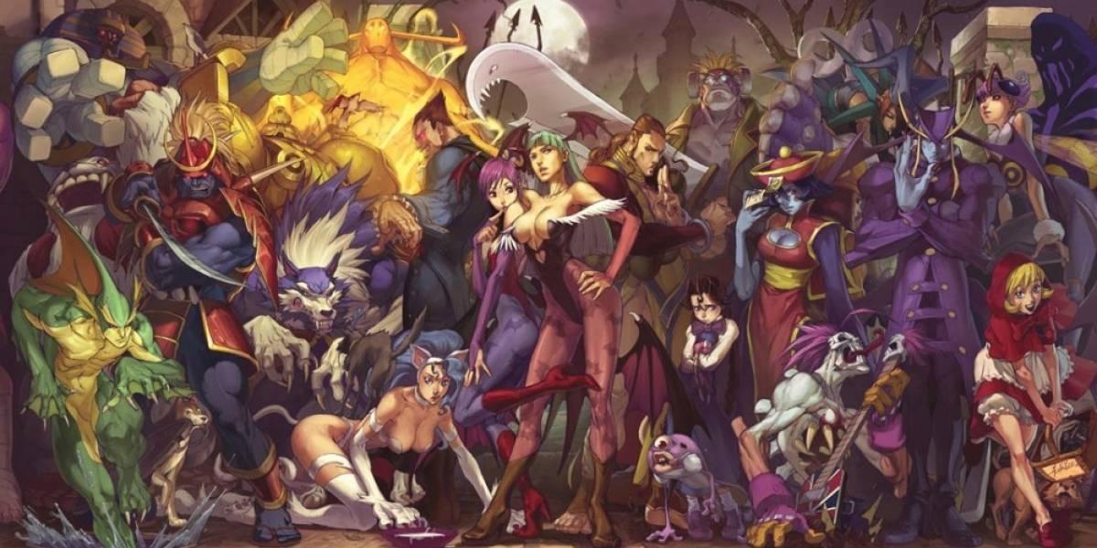 Capcom confirma que lanzarán Darkstalkers en PSN