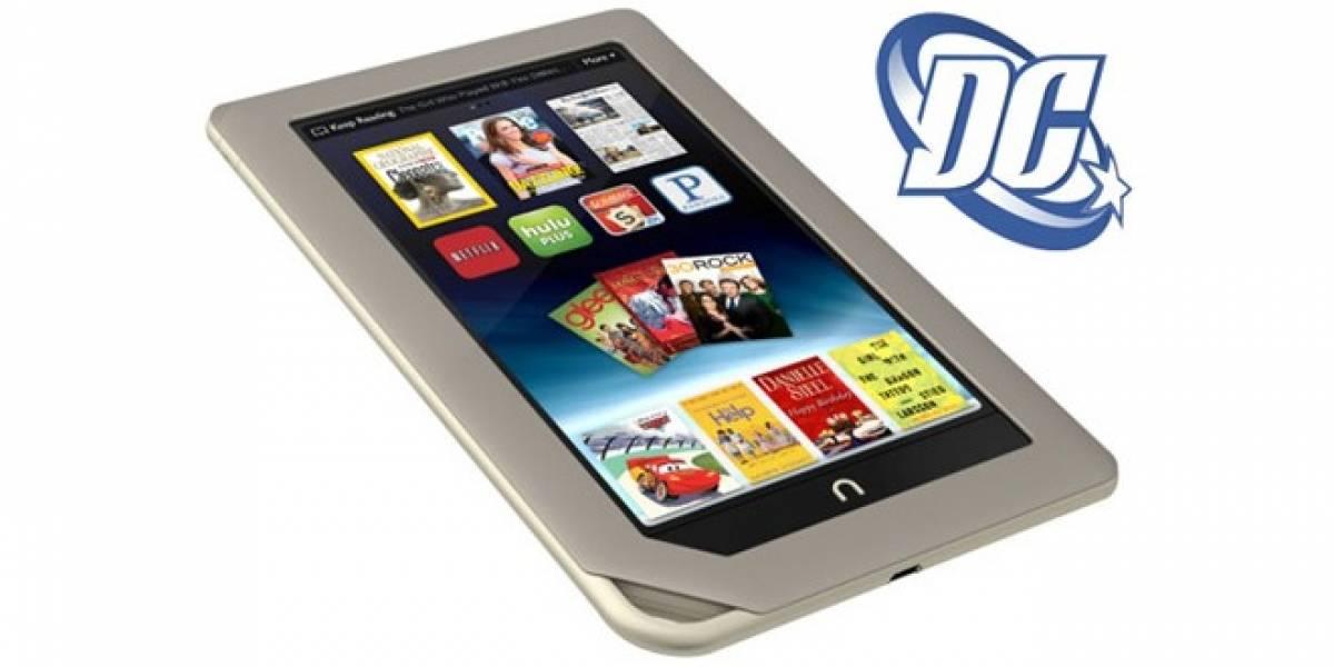 DC Comics llegará a la Nook Tablet y a la Nook Color
