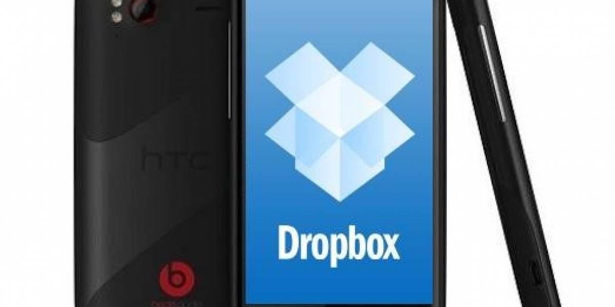 HTC regalará cuentas de 5GB en Dropbox en todos sus móviles con Android