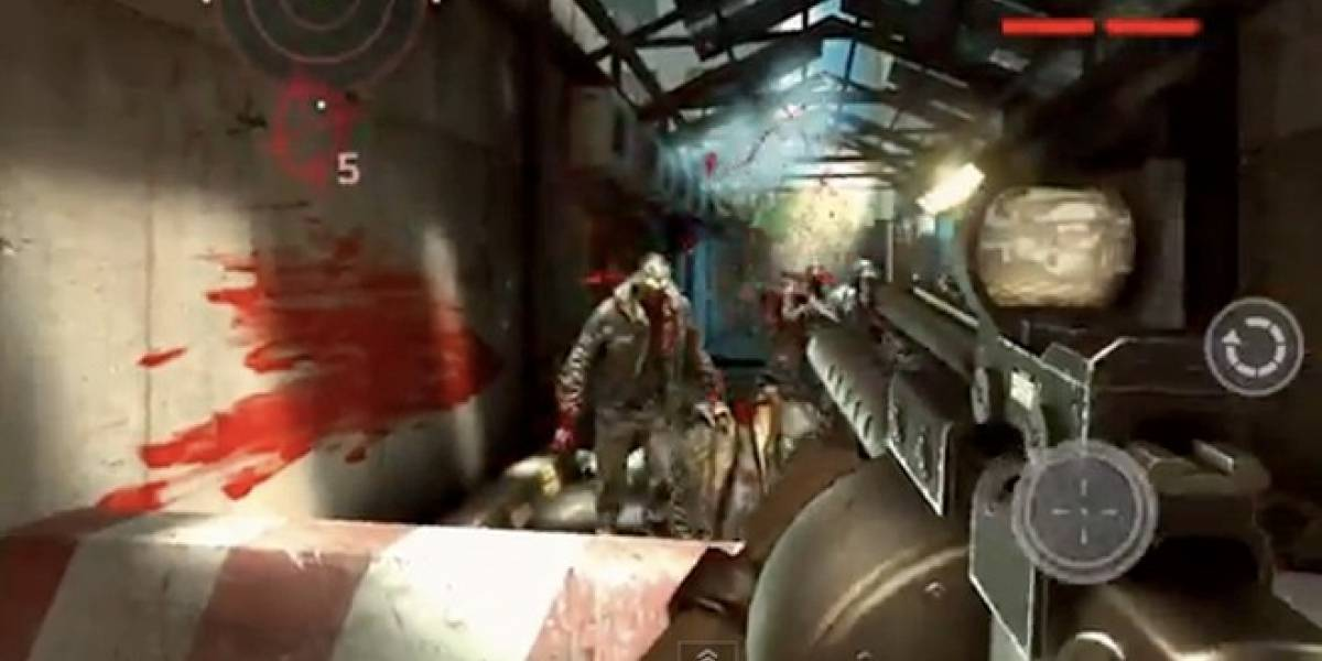 Dead Trigger es el nuevo y explosivo juego de zombies para tu smartphone y tablet