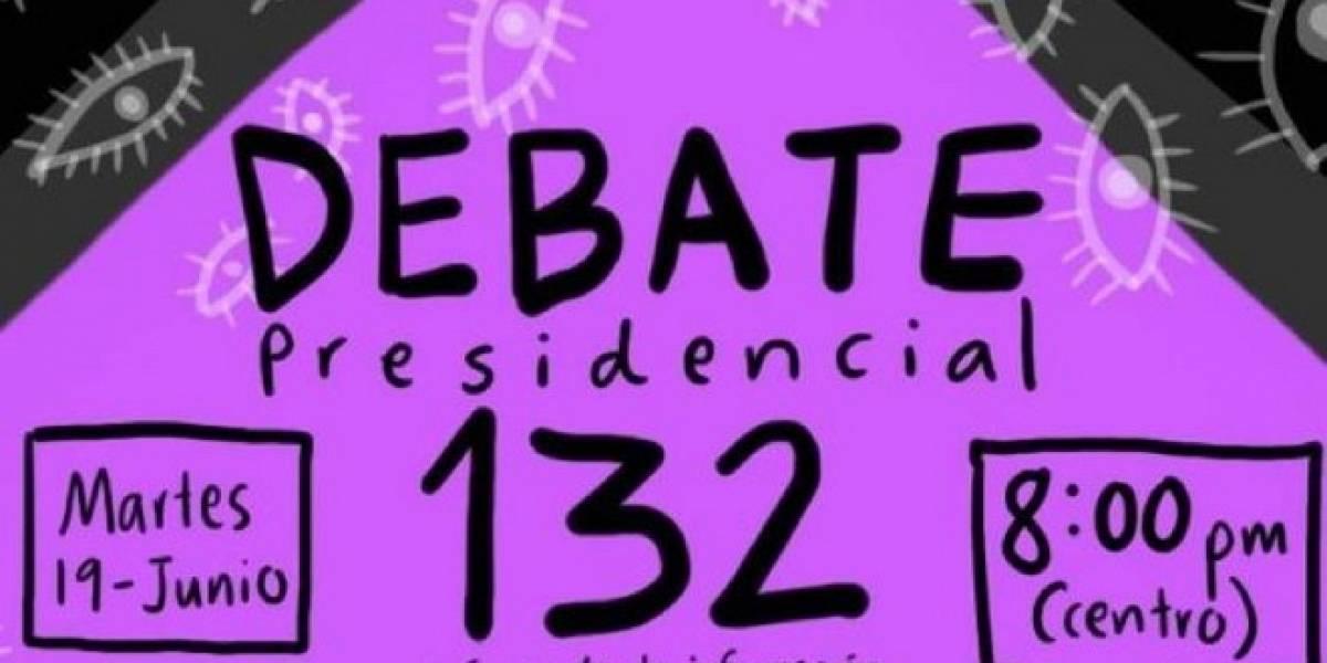 México: Hoy se realiza el debate presidencial 132, revisa dónde lo puedes ver