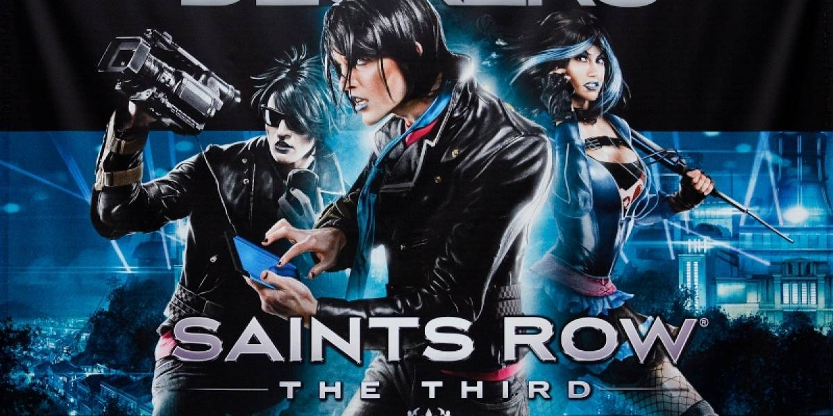 ¿Qué pasaría si mezcláramos Saints Row: The Third con Tron?