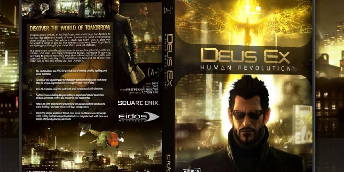 GameStop saca cupones de las cajas de Deus Ex: Human Revolution para PC