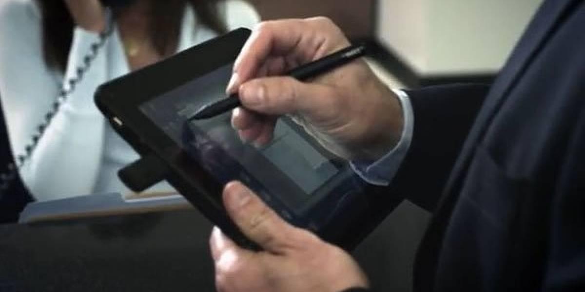 Dell presenta en video la tableta Latitude ST