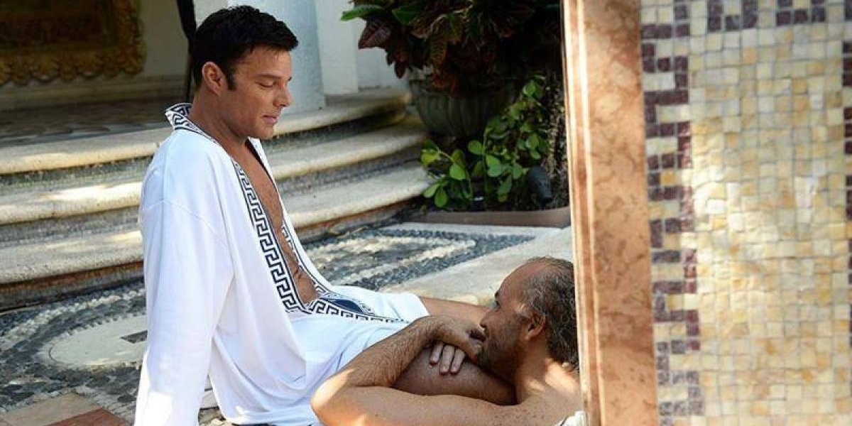 Versace: a cena quente de Ricky Martin que todos estão comentando