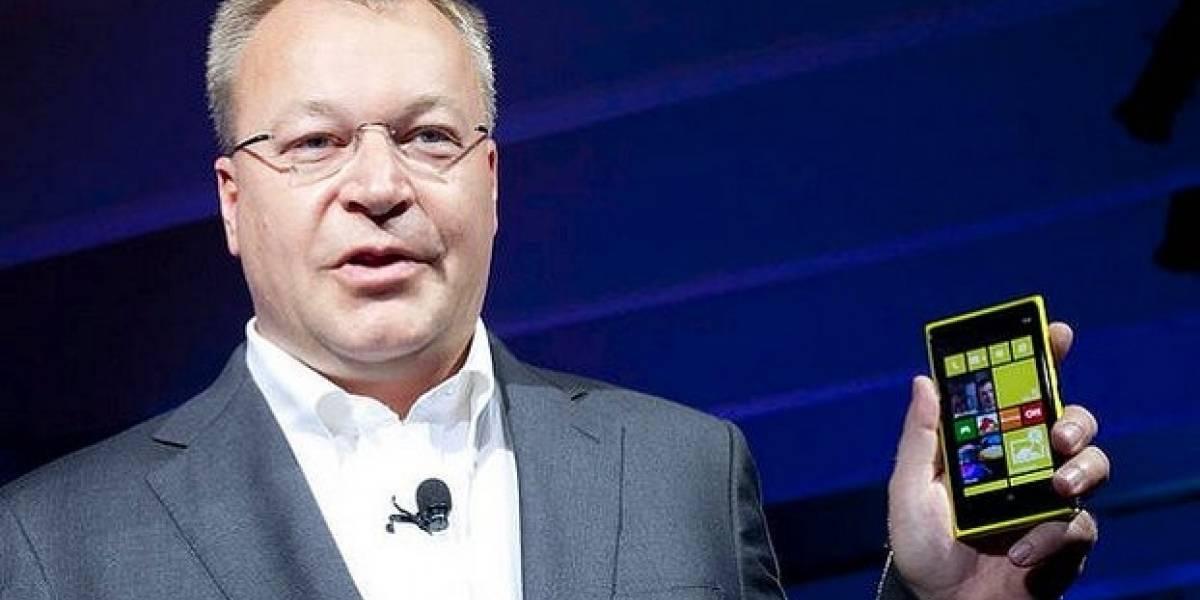 CEO de Nokia declara que los Lumia son mejores que los HTC