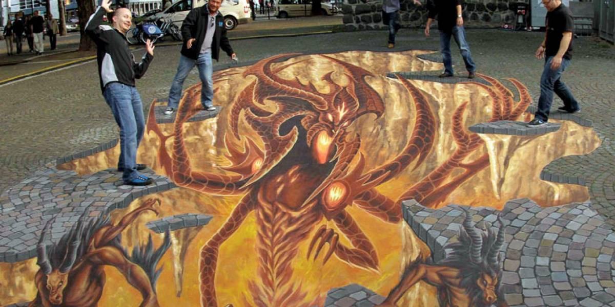 Diablo III se apodera de las calles de Colonia [gamescom 11]