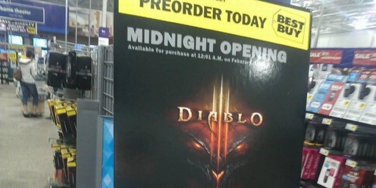 Best Buy le pone fecha a Diablo III y después se retracta