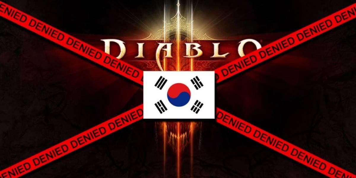 Diablo III puede perderse el jugoso mercado coreano por la Casa de Subastas