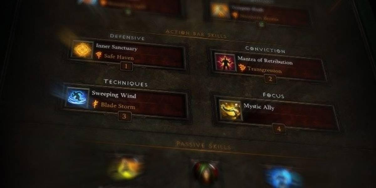 Blizzard detalla los cambios en el sistema de habilidades y runas de Diablo III