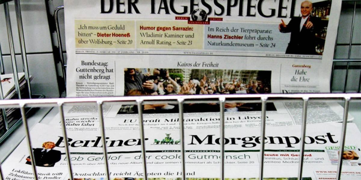 Alemania: Google tendrá que comenzar a pagar por mostrar titulares de periódicos