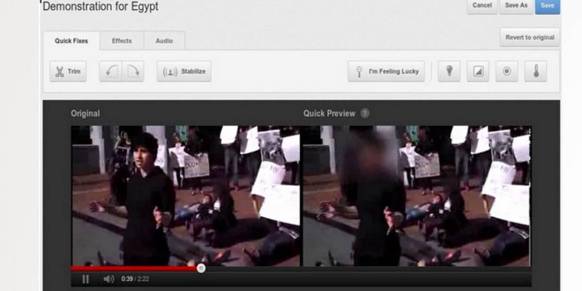 YouTube presenta su opción de 'difuminado de caras' para proteger el anonimato en la Red