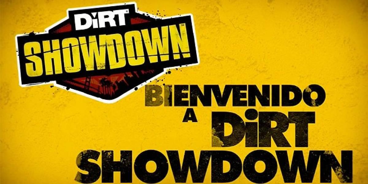 DiRT Showdown nos muestra la jugabilidad en todo terreno