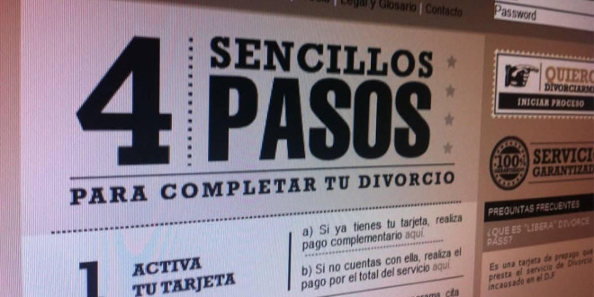 México: Tarjeta de prepago permite divorciarte de manera rápida