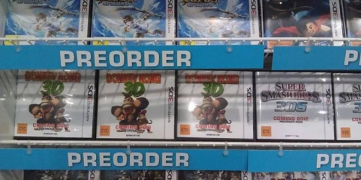 ¿Se viene un Donkey Kong para 3DS?