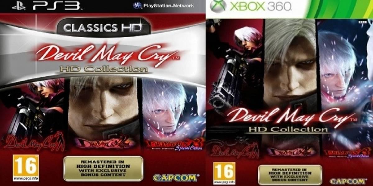 Capcom anuncia oficialmente su Devil May Cry HD Collection
