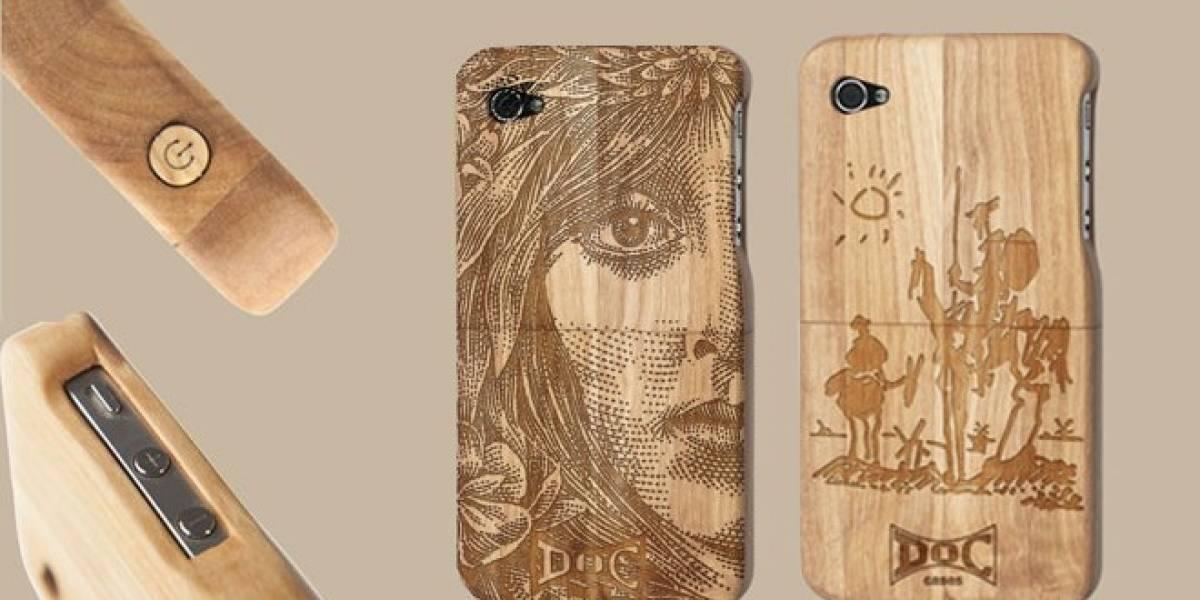 Emprendedores españoles fabrican carcasas ecológicas para iPhone con madera de olivo